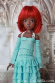 DollBelle Blue Dress Set