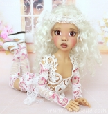 Lace Outfit #1 for Kaye Wiggs MSD BJD or any other 18″ MSD size doll
