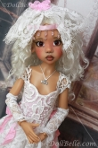 Lace Outfit #3 for Kaye Wiggs MSD BJD or any other 18″ MSD size doll