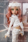 Lace Outfit #4 for Kaye Wiggs MSD BJD or any other 18″ MSD size doll