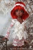Кружевной наряд DollBelle для Лариссы