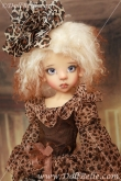 DollBelle Leopard Dress for Layla