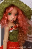 Fall Sew Outfit #1 for Kaye Wiggs MSD BJD or any other 18″ MSD size doll