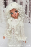 Winter Outfit #4 for Kaye Wiggs MSD BJD or any other 18″ MSD size doll