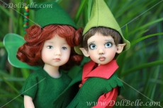 Tillie Elf and Faye Fairy