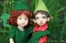 Tillie Elf and Faye Fairy