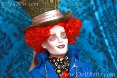 Alice in Wonderland Mad Hatter Futterwacken Tonner Doll