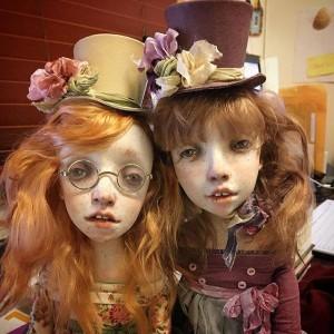 Betty and Elin by KaRDeNchiki